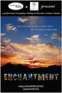 BlackShirtReads, Script Reading of Enchantment @ Jean Cocteau Cinema | Santa Fe | New Mexico | United States