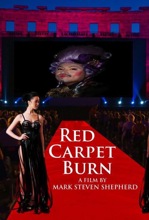 Red Carpet Burn  Press cropped film by Mark Steven Shepherd