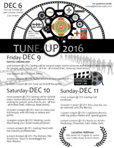 4th Annual Film Industry Tune Up @ Center for Progress and Justice | Santa Fe | New Mexico | United States