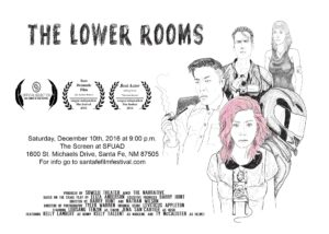 The Lower Rooms w/ The Talk In the Night @ The Screen, Santa Fe University of Art and Design | Santa Fe | New Mexico | United States